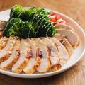 鶏むね肉のタバスコレモン焼き 、 タバスコとレモンの効果で鶏むね肉がしっとり柔らか