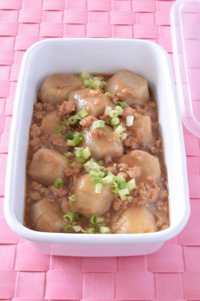 里芋の鶏ひき肉あん 作り置きレシピ お気に入り登録が止まらないレシピ♪