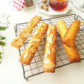 アールグレイ香る コーングリッツとアーモンドのケーキ&ラ・ペルーシュのミニキューブ