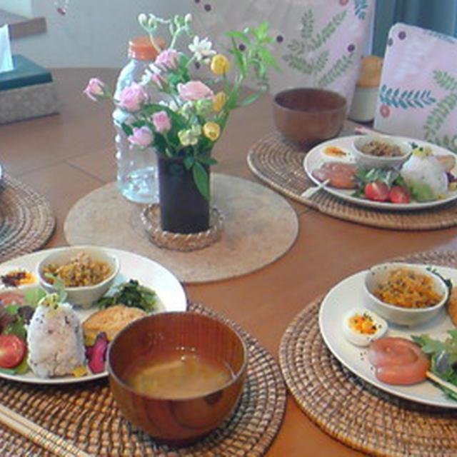 夏休みのお昼ごはん。