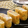 朝食やお弁当の一品に♪【カニカマと青のりの卵焼き】 by Jacarandaさん