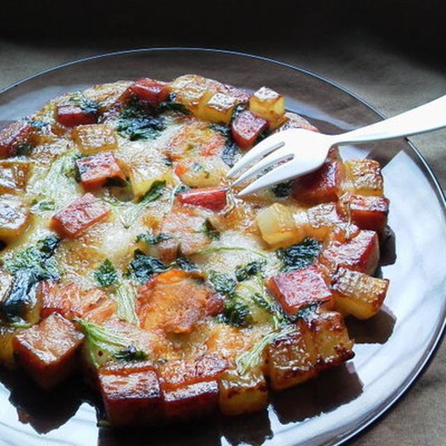 ~ゴロゴロ野菜とスパムの美味しいお餅~