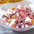 料理日記 116 / ヤーコンとブルーベリーのナッツサラダ
