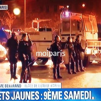 政府寄りフランスTV局のパン屋ガス爆発と9週目デモの放送の仕方