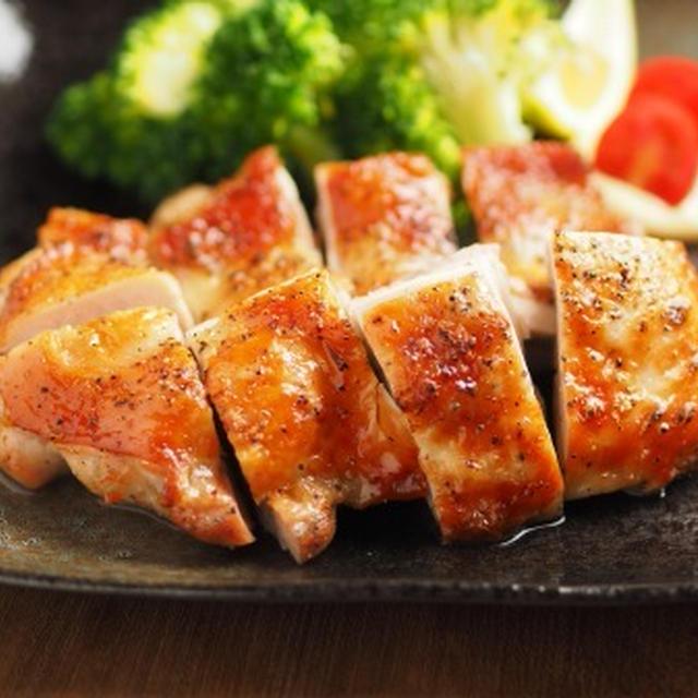 鶏もも肉のうま塩焼き