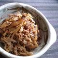 スキヤキ風な常備菜。具たっぷり牛しぐれ煮