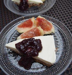 【#FunCookingLab】-レシピ-豆腐のチーズケーキ手作りジャム