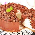 生チョコレートムースケーキ【焼かずに作る天使の食感】