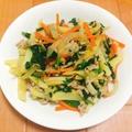 【簡単&ヘルシー】やみつき☆シャキシャキ野菜とアサリの炒め物