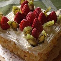 ☆ クリスマスのフルーツたっぷりショートケーキ ☆