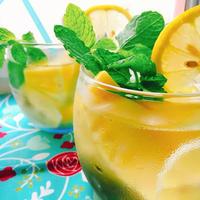 パインとレモンのフルーツビネガーウォーター