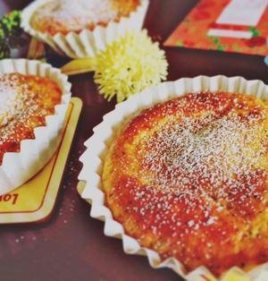 簡単☆ホットケーキミックスで♪紅茶バナナのクリームチーズ風味ケーキ