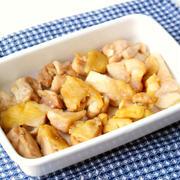 人気のお肉の簡単常備菜レシピ。鶏もも肉のだし生姜やき