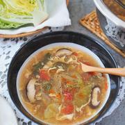 レタス大量消費レシピ♡酸辣湯スープ
