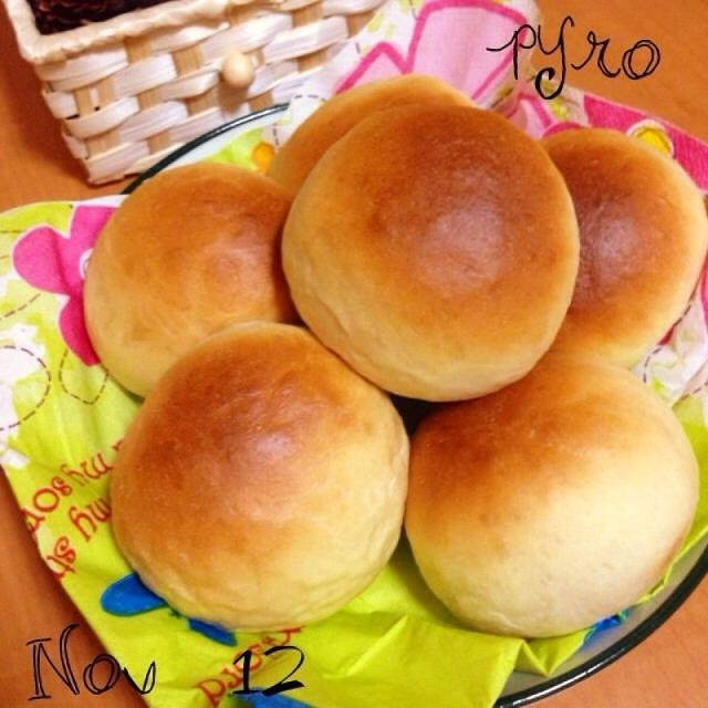 レンジで発酵☆豆乳パン♪