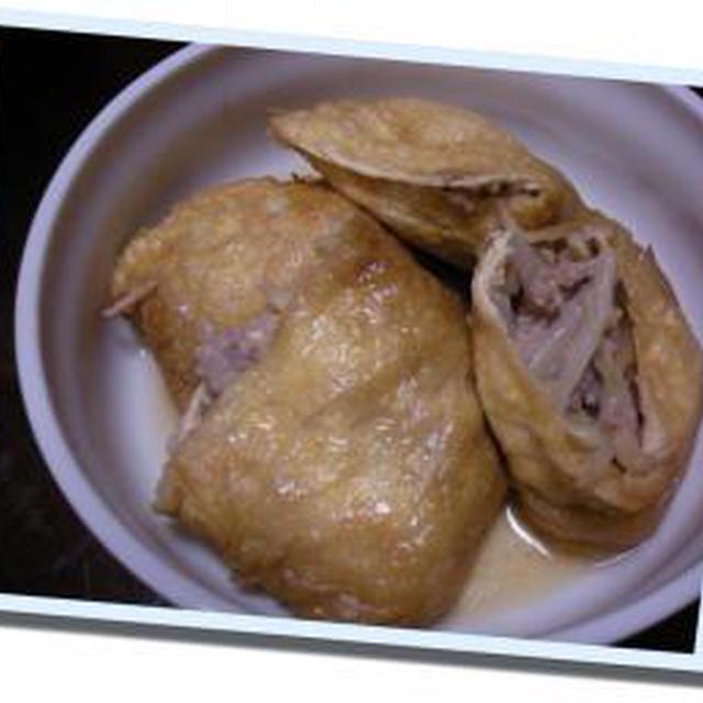 モヤシと挽肉の袋煮