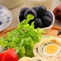 Wたまごサラダの太巻きロール(レシピ)