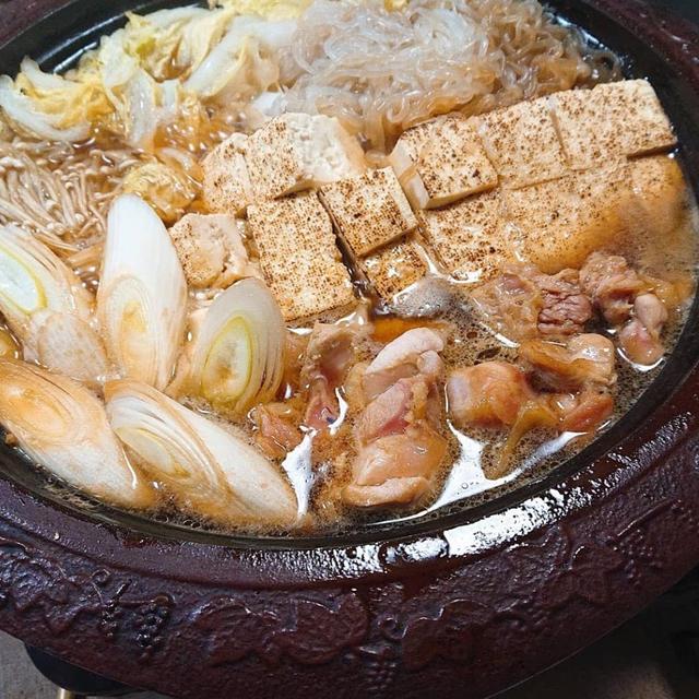 鶏すき焼き☆美味しい割り