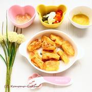 【離乳食メモ】 ふんわりフレンチトースト の献立。