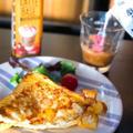 今日の朝活!料理編(7時起床、クロックムッシュ・プレート♪)