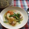 鶏肉と春野菜の軽い煮込み【Chicken with Spring Vegetables】2 by りこりすさん