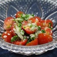 プチトマトのスパイスサラダ