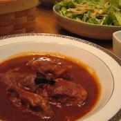 豚ほほ肉のデミグラス煮込み