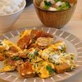 ご当地B級グルメ☆フィッシュカツのたまごやき定食【1週間節約献立】