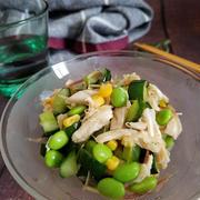 ~夏バテ解消~【たっぷり夏野菜とささ身の中華風だしびたし】#夏バテ #夏野菜 #作り置き