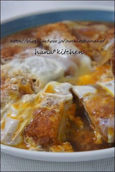 カツとじランチでした♪と、かつ丼のタレの簡単レシピ。