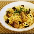牡蠣のスパゲッティ・アーリオオーリオ♪