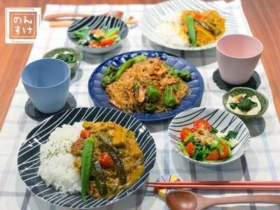 【献立】肉野菜炒めとマリネをカレーにカサ増しリメイクで夜ご飯