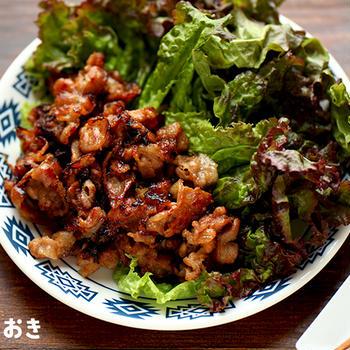 テジカルビ(韓国風豚の甘辛焼き)