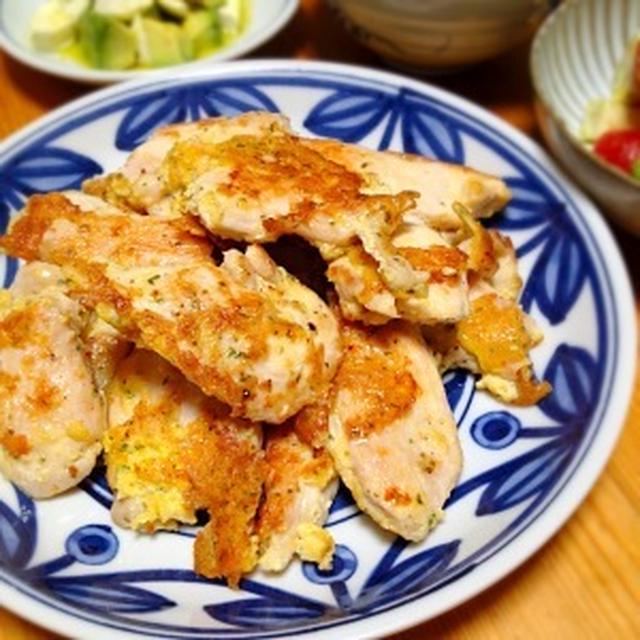 ☆鶏胸肉のピカタ風