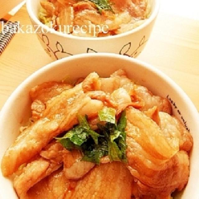 調味料を合わせて煮込むだけ♪バカゾクあいこの一番簡単★丼レシピが超簡単なのに極上♡