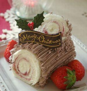 本格派?お手軽派?クリスマスの定番ケーキ♪ブッシュ・ド・ノエル