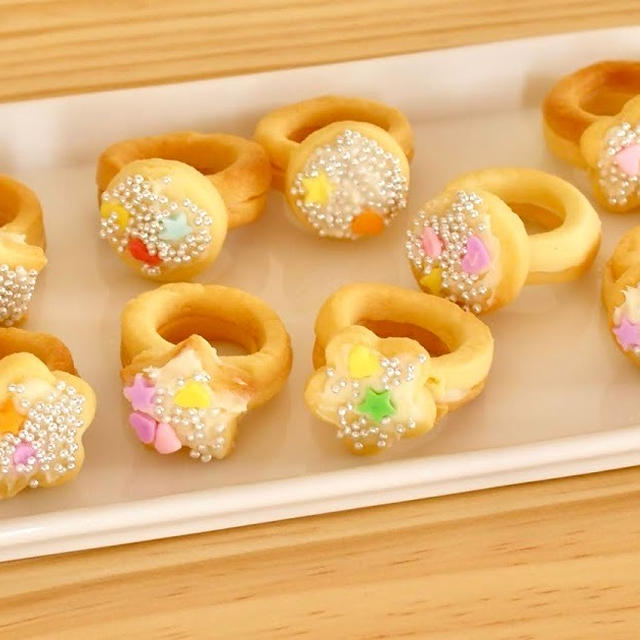 指輪クッキー 💍 レシピ | 海外向け日本の家庭料理動画 | OCHIKERON