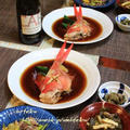 ◆ひな祭りは金目鯛の煮つけとラムの黒酢ソテー♪