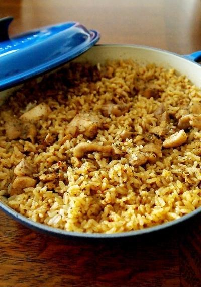 スパイスと旬の食材で楽しむ秋レシピ・・ビリヤニ♪
