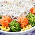 初みじん粉♪「釜揚げしらすと菜の花のミニ丼」 by PICOさん
