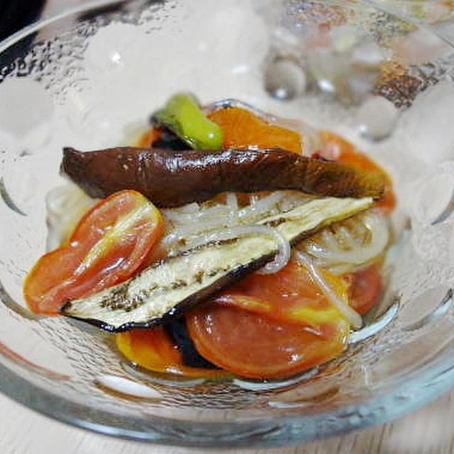 8/30の晩御飯 焼きさんま、黒豆ごはん、干し野菜と春雨のさっぱりお浸し