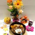 ハロウィンテーブルと 煮込みハンバーグ☆決めてはゼラチン by とまとママさん