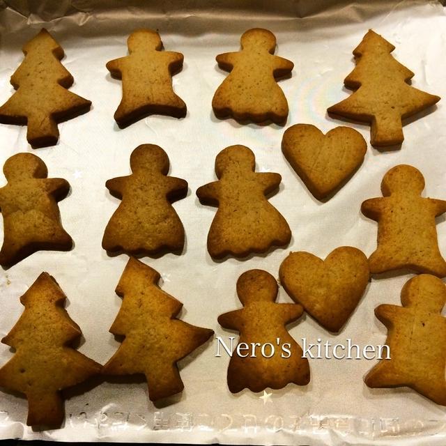 ココナッツ香るクリスマスクッキー♪レシピ