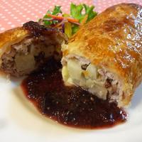 フルーティ☆豚肉のパイ包み焼き