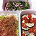 野菜ときのこと豚肉のオーブン焼き 他2種の常備菜 by 常備菜食堂さん