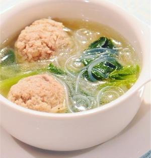 肉団子いり春雨スープ!ウマ塩仕立て♪ククパ人気トップ10入