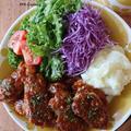 【豚肉レシピ】KALDI購入品♡とマスタードソースのポークソテーチーズマッシュ添え