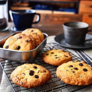 【クッキーレシピ】チョコチップクッキー
