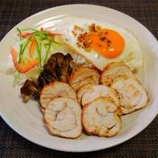 レンジ5分鶏ハムdeスモーク風チキン
