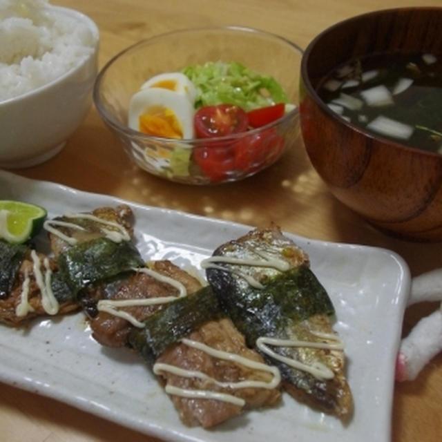 旬の味をふんだんに 秋刀魚のマヨポン☆